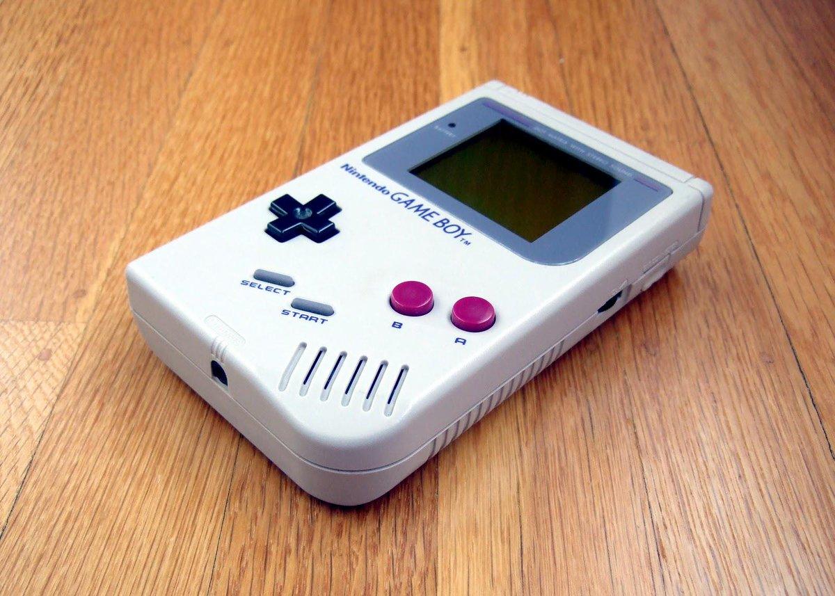 Today in Geek History: The original #Nintendo Game Boy released in Japan in 1989. Happy 26th Birthday, Game Boy!