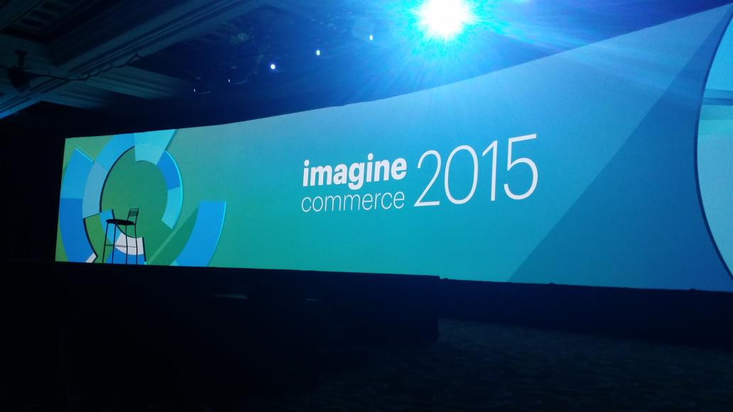 HealthyJerry: #ImagineCommerce waiting for first general session with Steve Wynn as key note. http://t.co/0t17FtEiEg