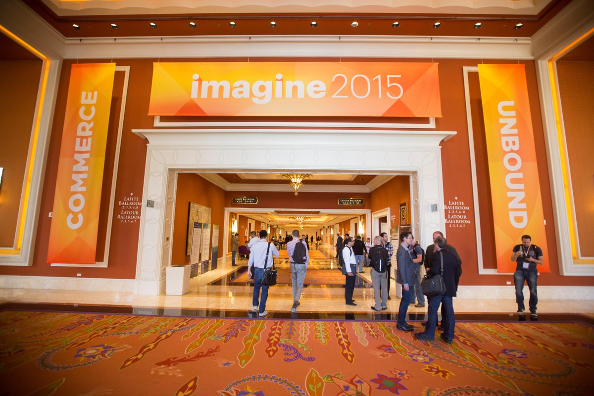 eBayEnterprise: Good morning and welcome to #ImagineCommerce day two! We'll see you at @chayman's keynote http://t.co/RfSTiaLhB1