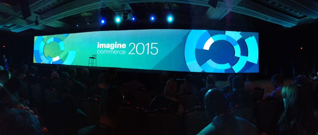 sbaixauli: Waiting for @magento Keynote at #MagentoImagine #ImagineEcommerce @Onestic http://t.co/D5pR38uwtS