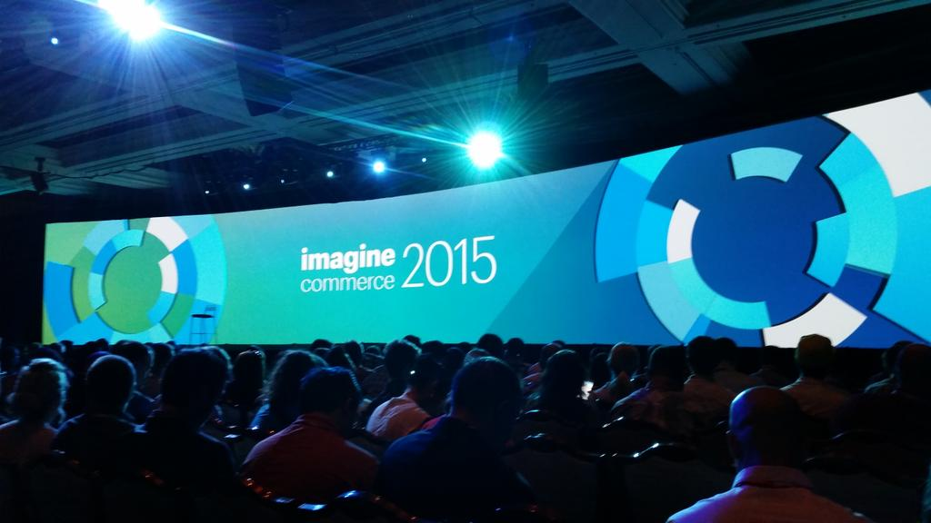 blueacorn: Ready to kick off #ImagineCommerce - let's go! http://t.co/LxRjPyIA4b