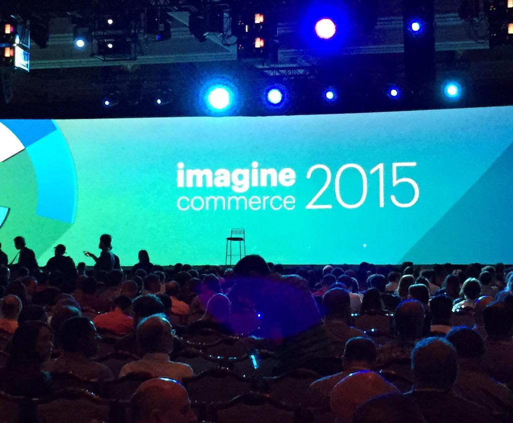WebShopApps: It's happening #ImagineCommerce http://t.co/je4MvsVWDA