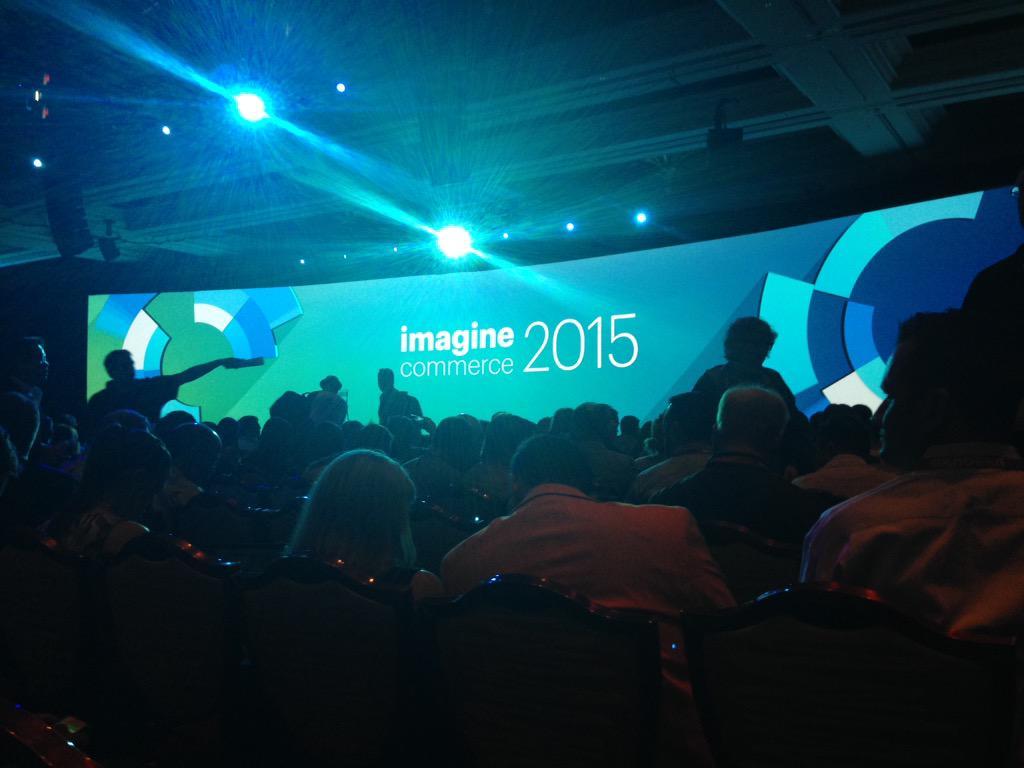 SheroDesigns: Good morning #Magento: Keynote speaker eBay Enterprise President Craig Hayman coming up #ImagineCommerce http://t.co/2PBgyRCOtZ
