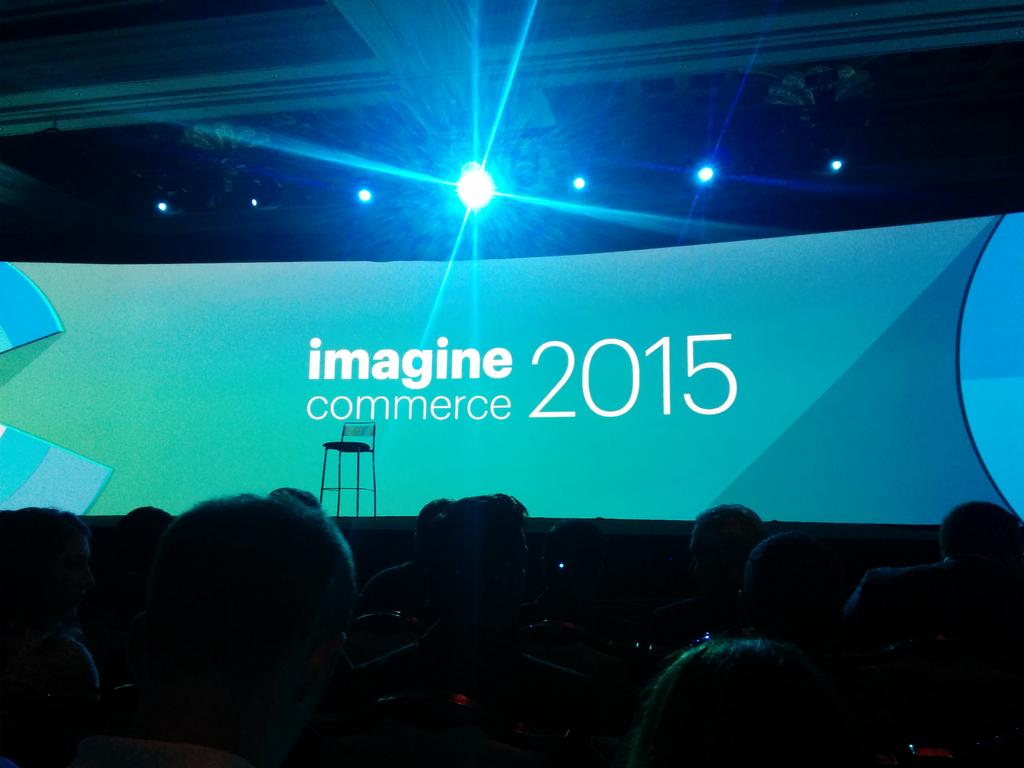 brentwpeterson: Starting the #imaginecommerce confrence http://t.co/xwdEKYMwdX