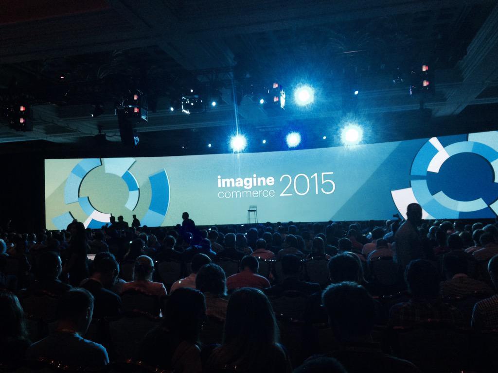 Tbajo: Awards time! #ImagineCommerce #2015 #magento #redboxdigital #lasvegas http://t.co/W1vLbRLiM9
