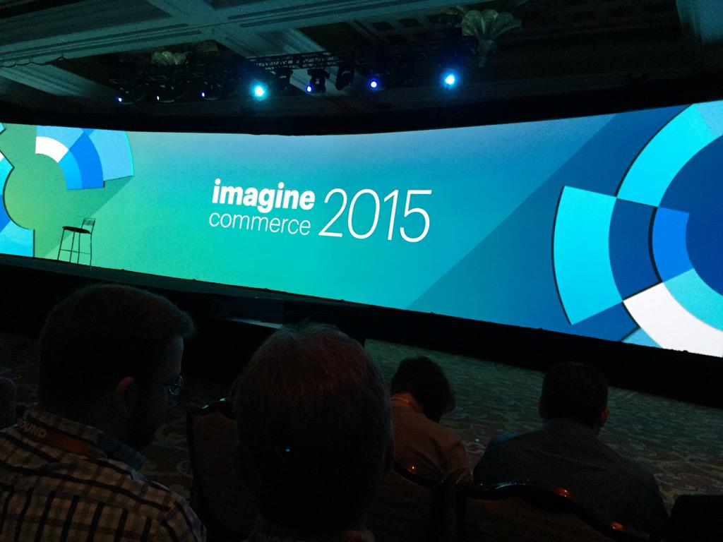 ericerway: Day 2 of the Imagine 2015 conference. Ready for the eBay Enterprise keynote with Craig Hayman. #ImagineCommerce http://t.co/zzz4KWkaF3