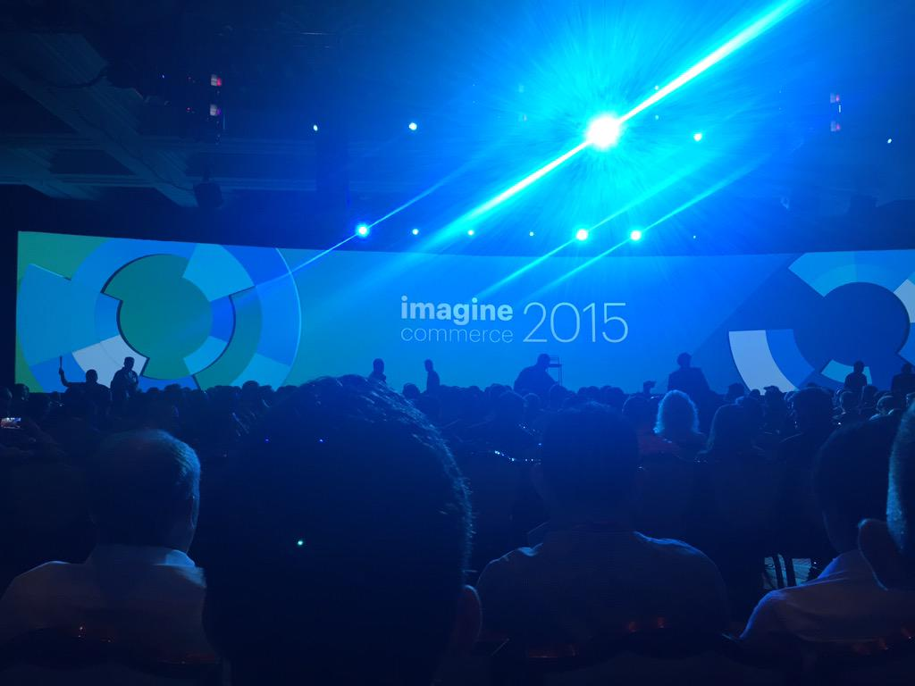 Boris_Lokschin: #imagine2015 about to start in huuuge Wynn congress hall. The Americans know how to run a good show. #Magento http://t.co/8hf1mIuMEP