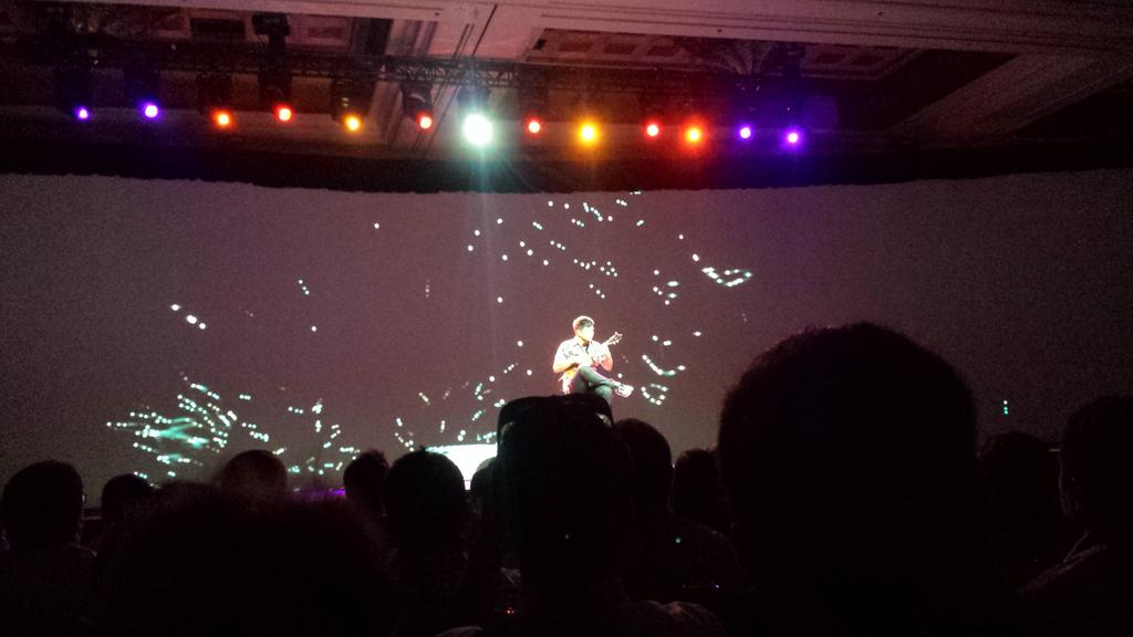 mgoldman713: The opening act at the first keynote of @magentoimagine http://t.co/eGDtto0zcK