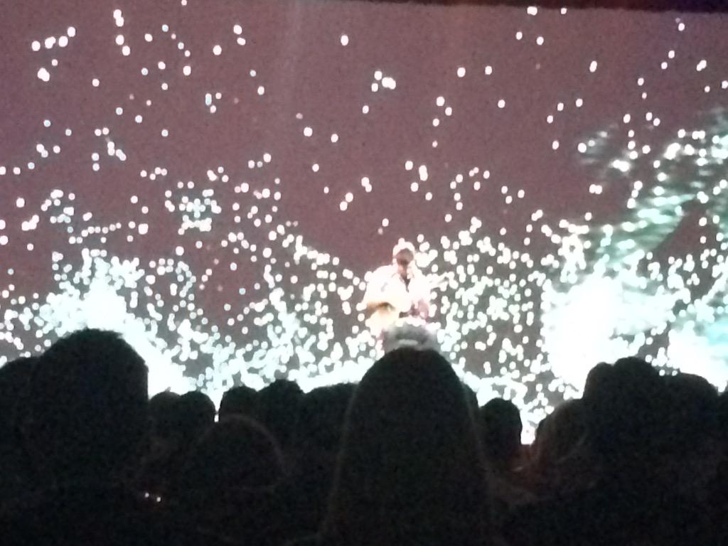 mmiller75: Morning jam session at #ImagineCommerce. Jake rocking out on a Ukulele to 'While My Guitar Gently Weeps'.  #awesome http://t.co/0zJ2VroC0w