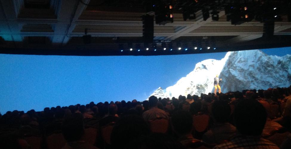 christophedavy: #MagentoImagine General Keynote: try to find Jamie on the huge stage! ;) http://t.co/UmOOd4Lmdd