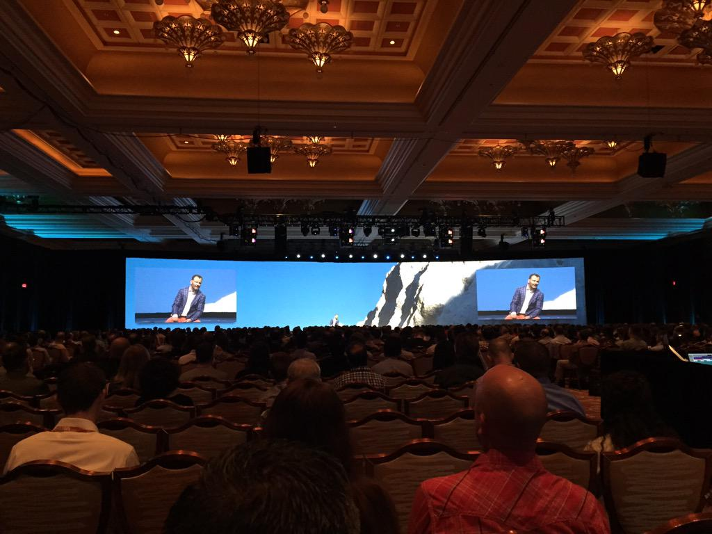 ebizmarts: This is how #ImagineCommerce's opening keynote looks from the back of the hall, it's packed! http://t.co/iyUwhfwcoB