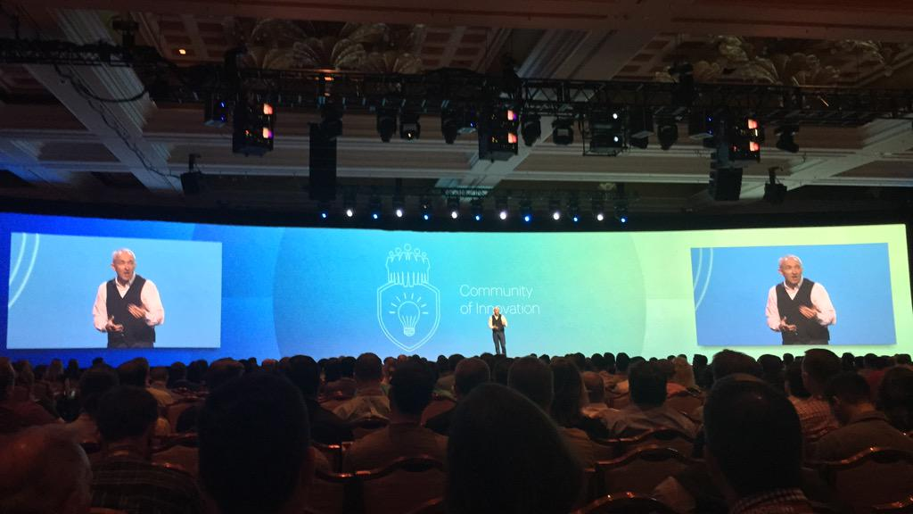 benmarks: 'We are all part of an incredible community of innovation.' - @chayman #ImagineCommerce http://t.co/Fwgu8dXU3x