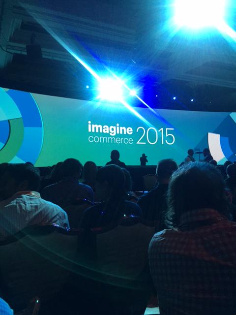 POS_Portal: Starting the morning off at #ImagineCommerce listening to the President of @eBayEnterprise @chayman #MagentoImagine http://t.co/WoGZJMtE5F