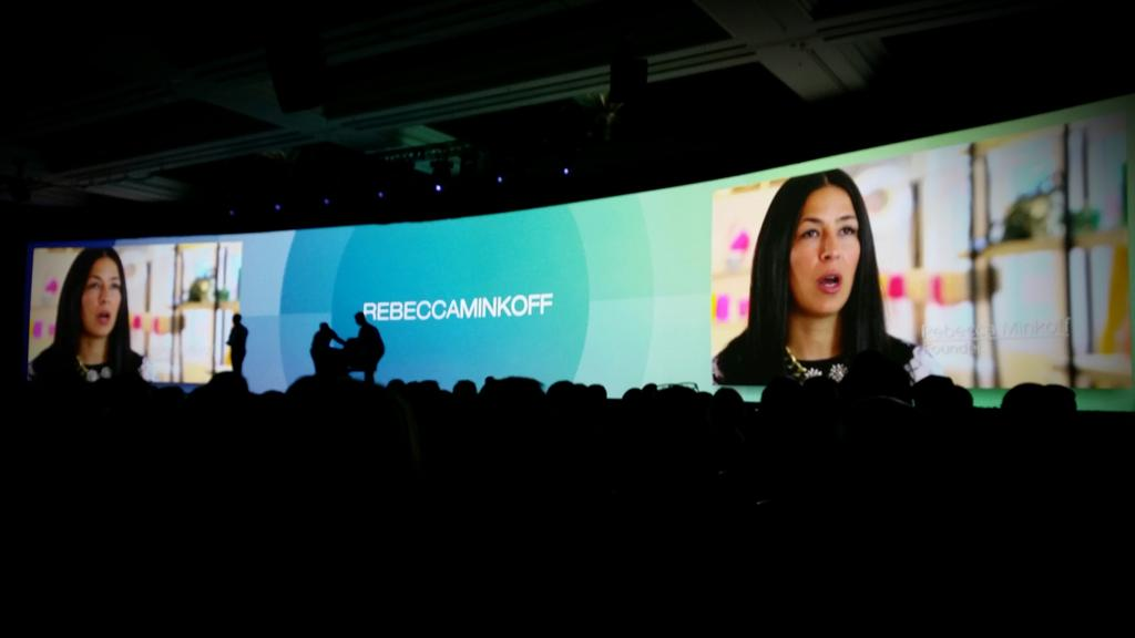 blueacorn: Proud to see our incredible client @RebeccaMinkoff featured during the #ImagineCommerce keynote http://t.co/WzDTv6bOnE