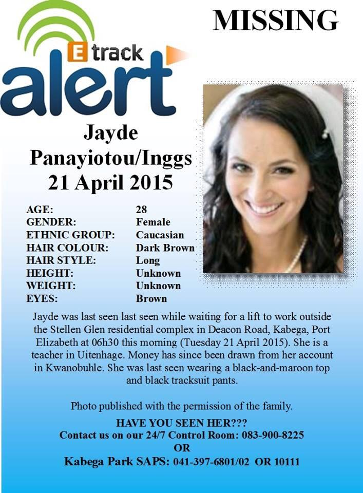 MISSING #JaydePanayiotou http://t.co/8yqlArPtHT