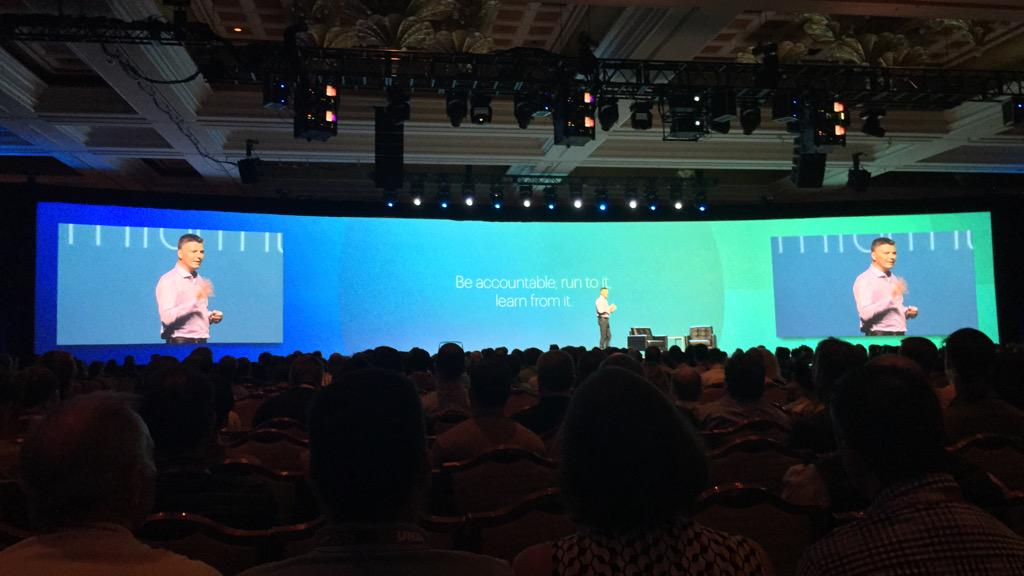 benmarks: 'Be accountable; run to it, learn from it.' - Fred Argir, Toys'R'Us #ImagineCommerce http://t.co/9IbZ4zlqmh