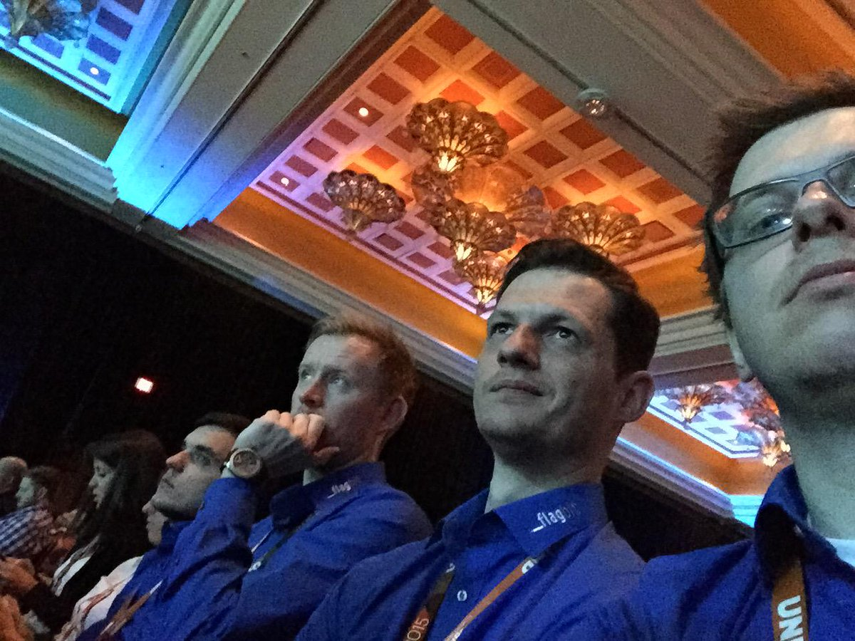 drlrdsen: The Blue Man Group by @flagbit at #ImagineCommerce http://t.co/zgWl6uK2LO