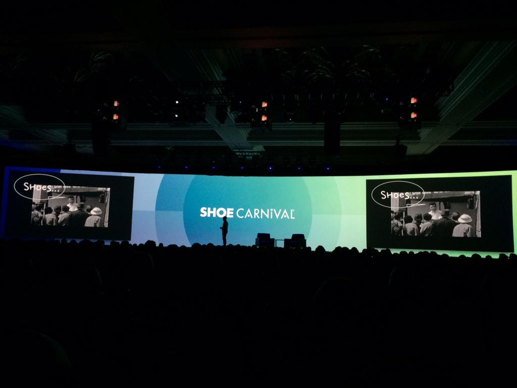 blackbooker: The @ShoeCarnival brand being introduced here at #ImagineCommerce How many of you love shoes? http://t.co/sEzX4cQNw5