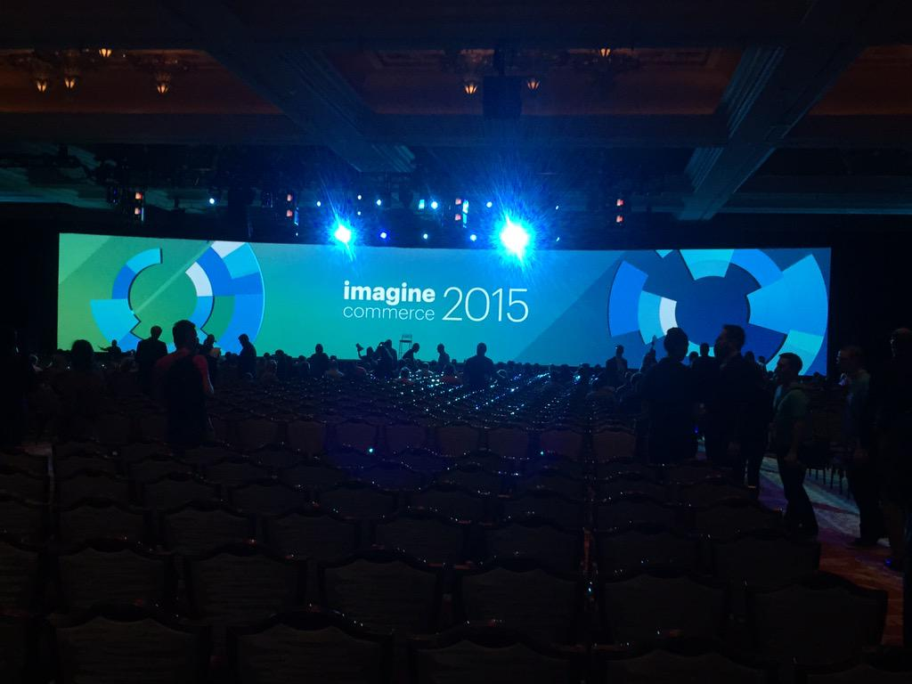 AlexKudelka: HELLO from #Imagine2015! Great start to the conference. #retail #innovate http://t.co/PodSrJXCDZ