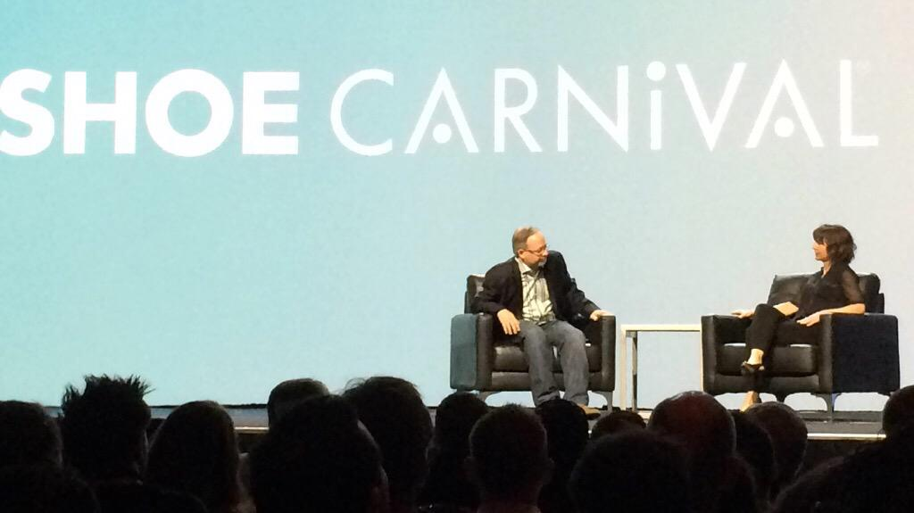 Hosting_Mike: Amazing omni channel story from Shoe Carnival #ImagineCommerce http://t.co/o1JXo9Kvo1