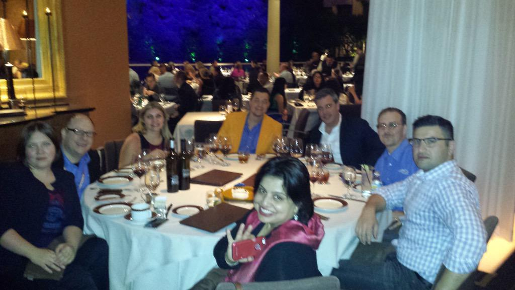 alpinemagento: Enjoyed dinner last night with friends at #ImagineCommerce Thank you for joining us! @AlpineCnsltg http://t.co/koZLmI66XX