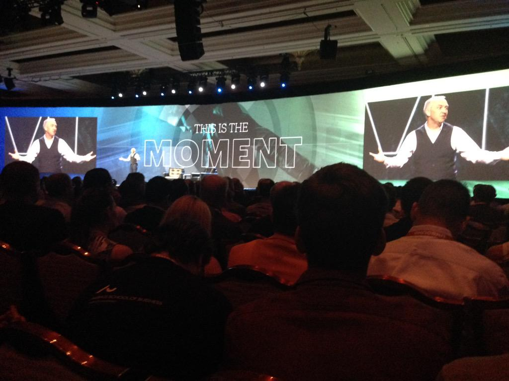 SheroDesigns: @chayman 'This is the Moment' #ImagineCommerce http://t.co/artkF4eNEr