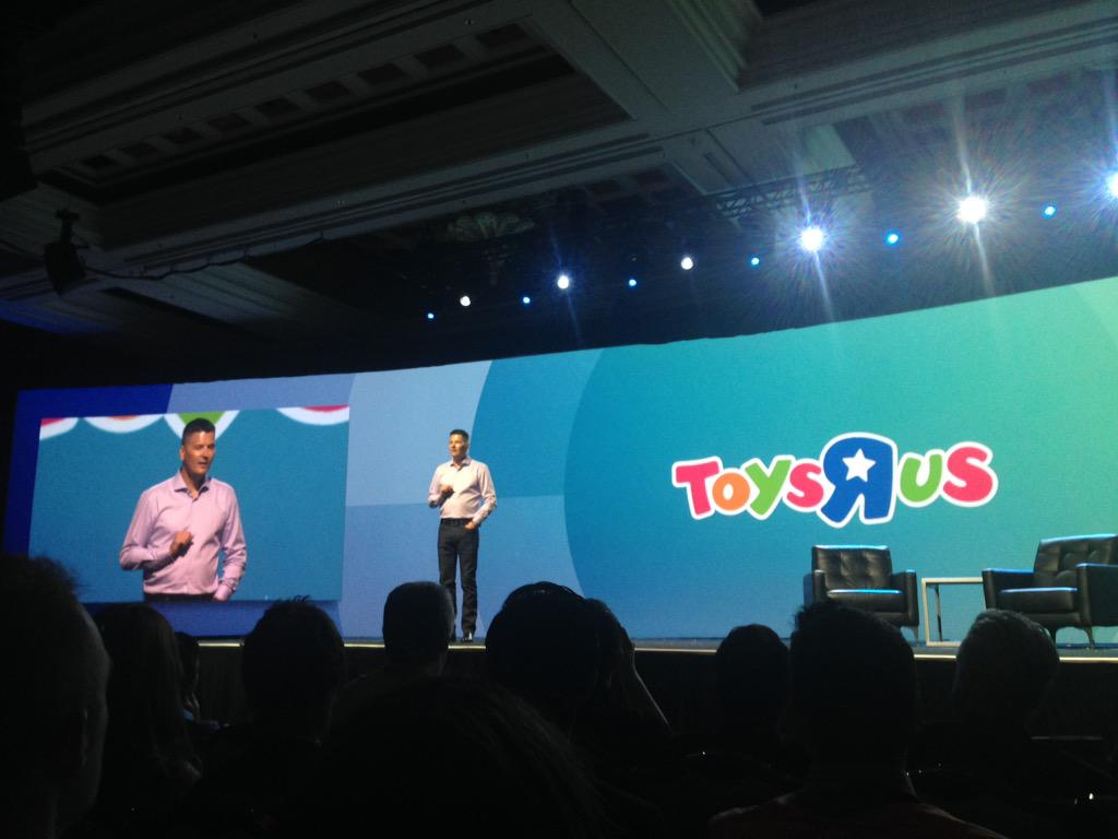 meanbee: .@ToysRUs SVP Fred Argir joins the stage to share their digital direction with @ebayenterprise #imaginecommerce http://t.co/Zs8BxTu4Qv