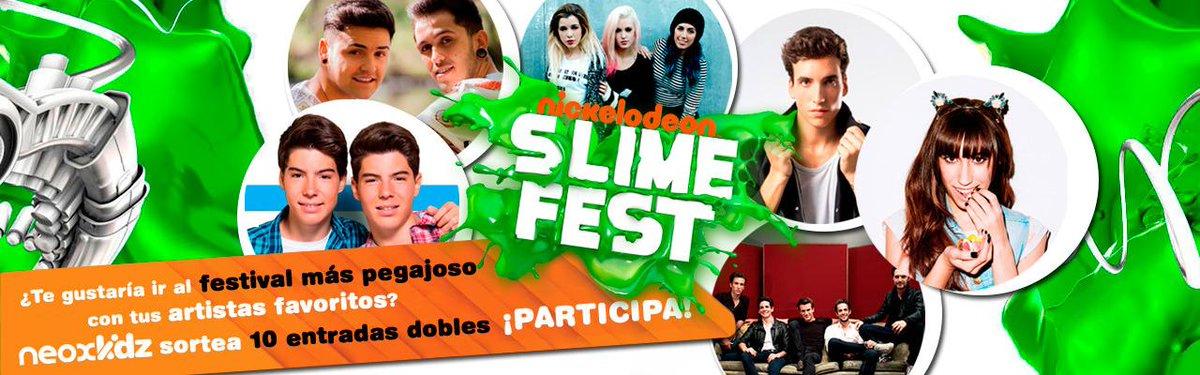 A través de @NeoxKidz sorteamos entradas dobles para 'Slime Fest'. Participa aquí: http://t.co/UQnV4u3Ruw http://t.co/JY4JNdSdwP