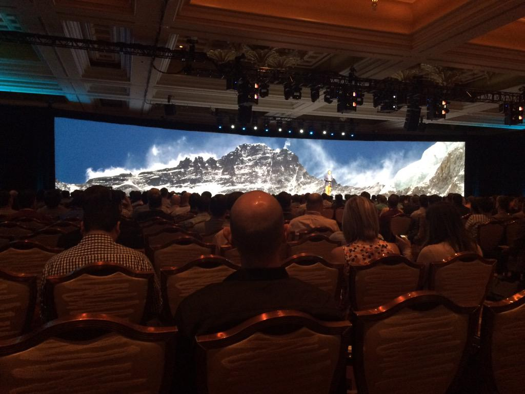 kandarp: Excellent general session @magento #ImagineCommerce - looking forward to more from @eBayEnterprise http://t.co/e8oHD1ZLWz
