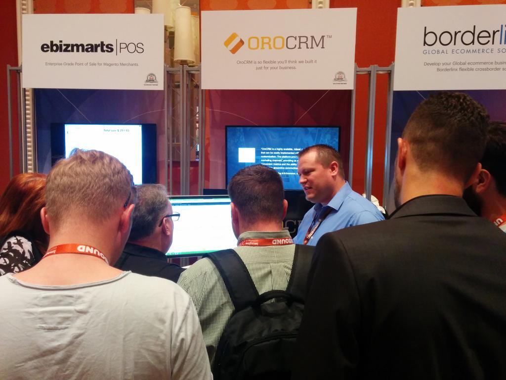 dmitriysoroka: @OroCRM at #ImagineCommerce, day 2 - very busy. Visit us at booth 25 http://t.co/iVbLGOCkDF