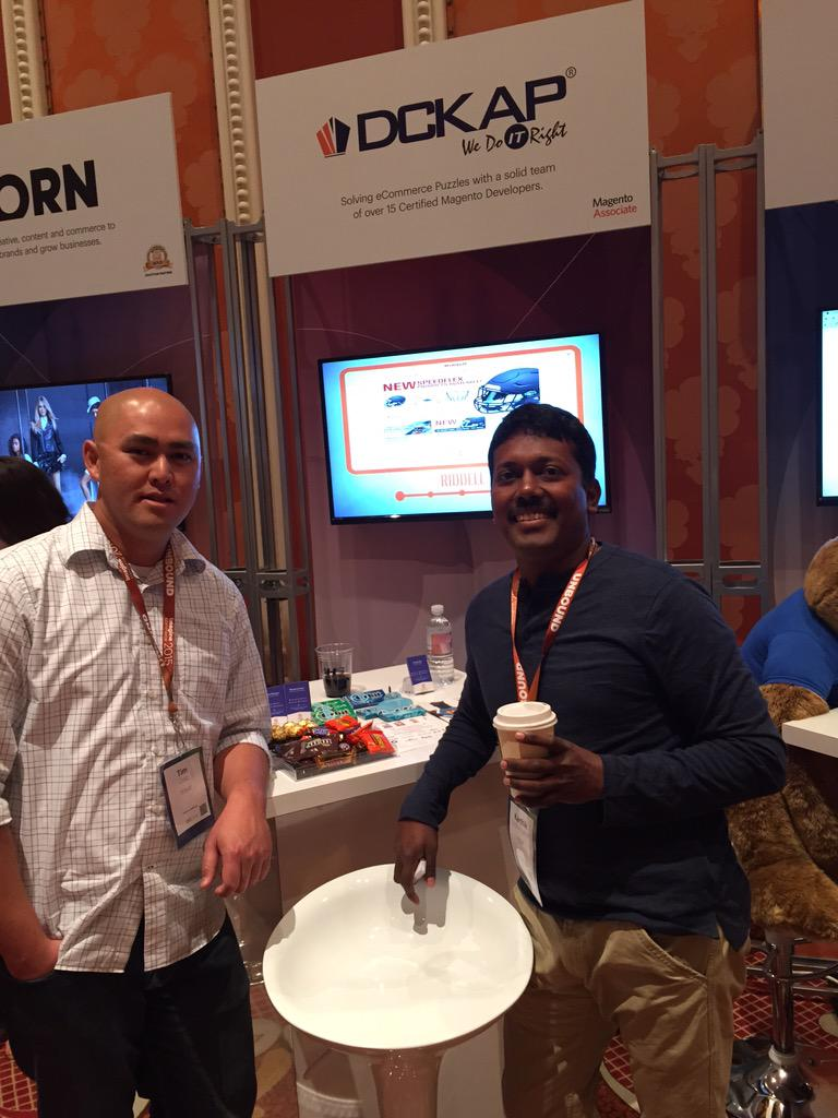 DCKAP: Marketplace day 2 #ImagineCommerce Booth 28 http://t.co/HtExI9r5kZ
