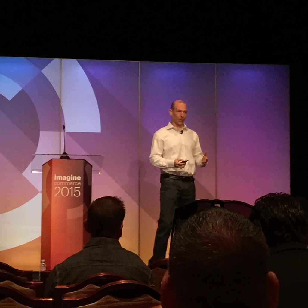 kab8609: Chris Wells from @nexcess talking to us about the Cloud. #ImagineCommerce http://t.co/4mdoOgEQCv