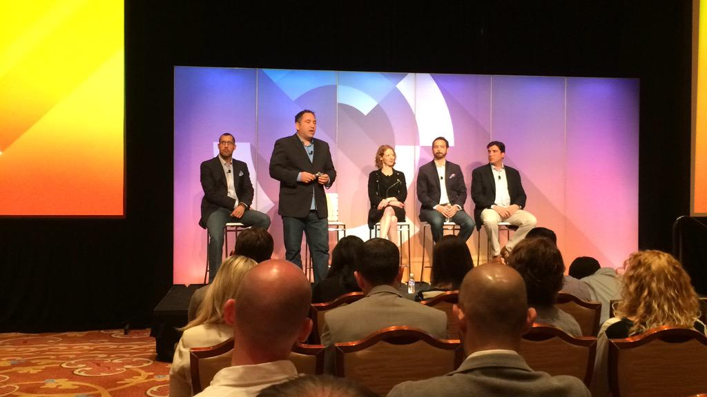 Hosting_Mike: eBay, Forrester, Rebecca Minkoff, Blue Acorn and @Rackspace - omni channel breakout #ImagineCommerce http://t.co/ROUYm6Q6D7