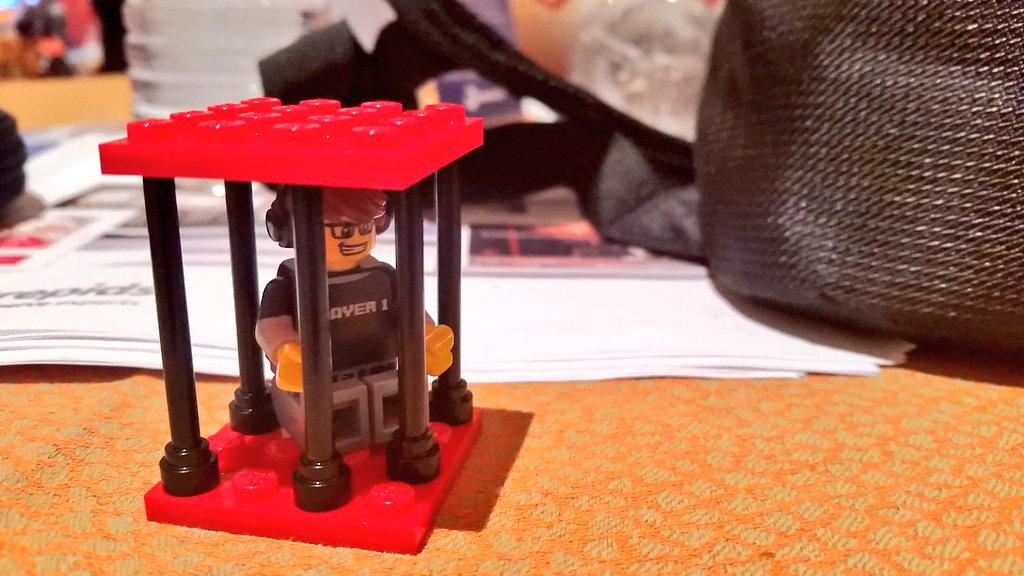 guido: They asked me to build a custom Lego platform, so I put it in prison #ImagineCommerce http://t.co/e7TcnG26Yk