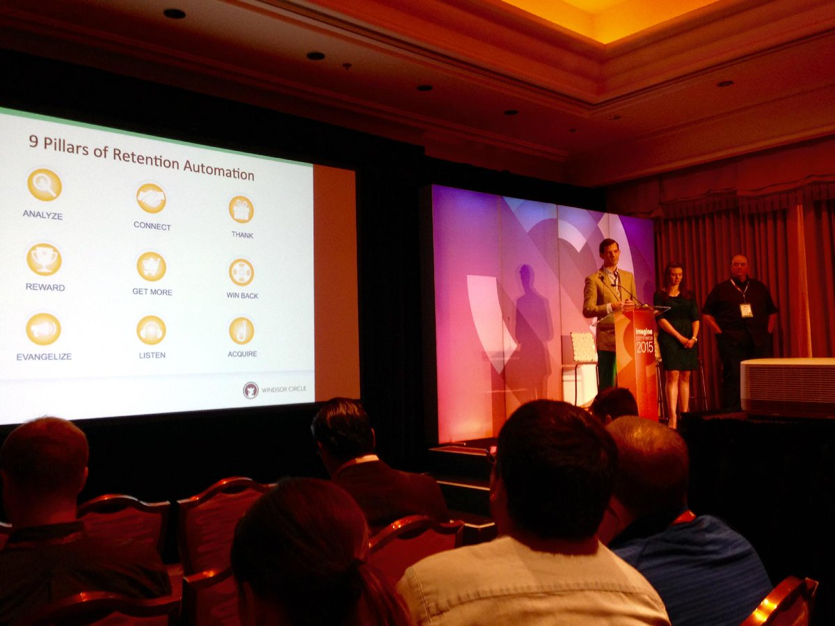 magento: Great message @mcginity Help customers buy more: drive results by segmenting your customer groups. #ImagineCommerce http://t.co/HrhYCUQ8Ki