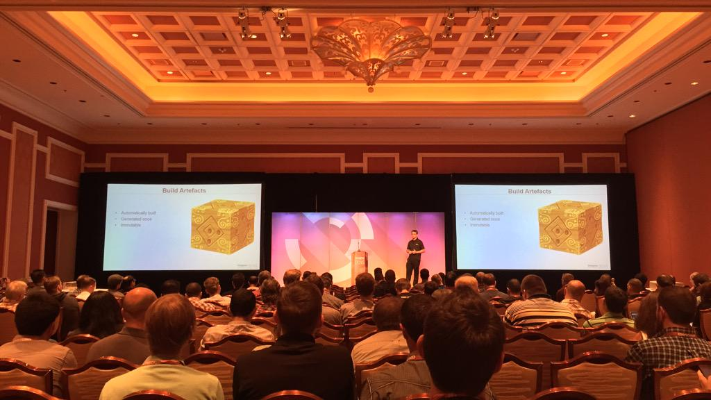 benmarks: Happening now in Margaux 1: Ending Code Deployment Nightmares by @toksvaeth from @anchorsystems! #ImagineCommerce http://t.co/SGgEzQUDel
