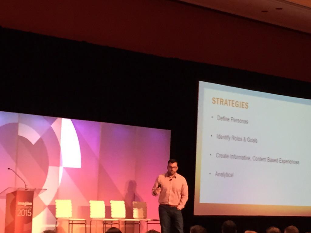 DCKAP: B2B strategies #ImagineCommerce http://t.co/2EMOAIxUPX