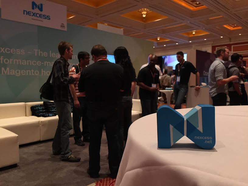 nexcess: The Nexcess logo is doing its @RoamingGnome imitation at Booth #507 at #ImagineCommerce. Where will it show up next? http://t.co/kVPrdgVtUZ