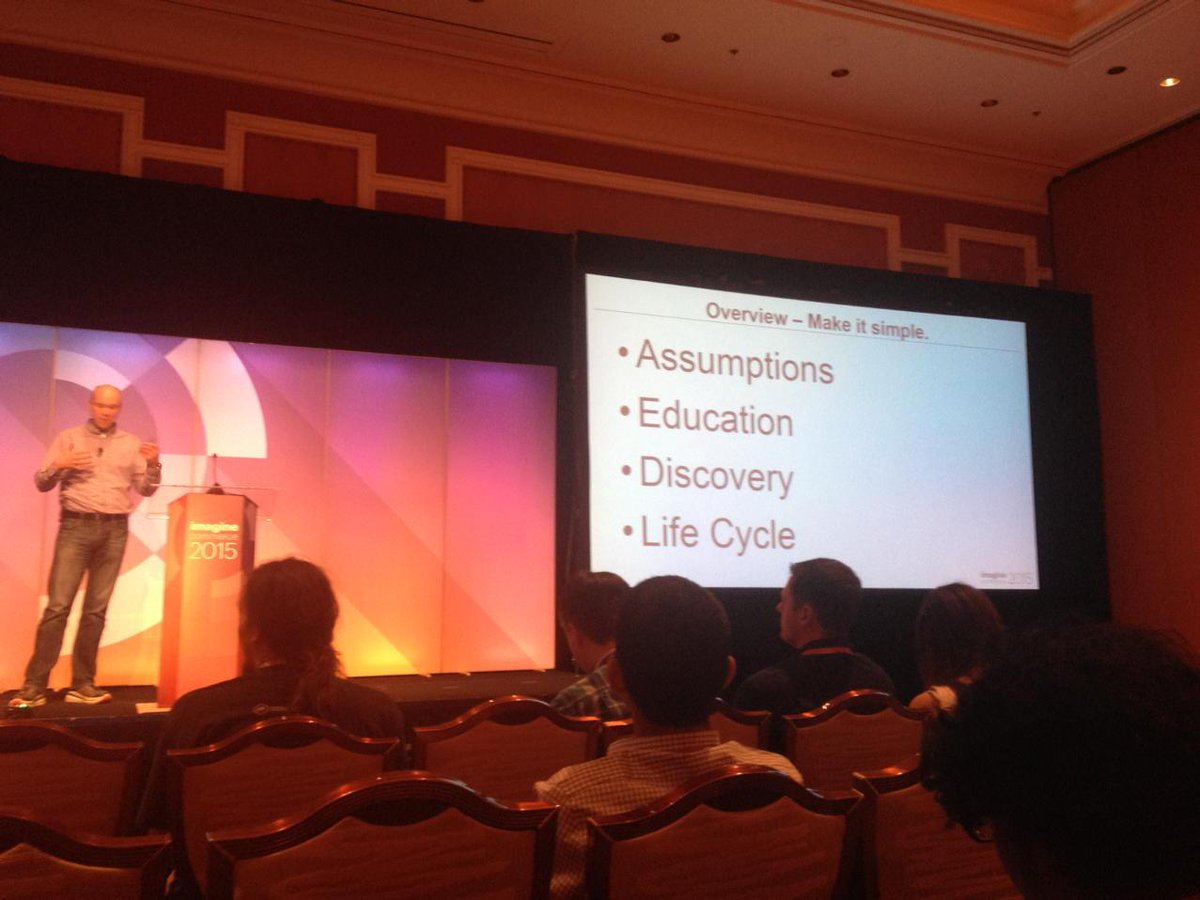 wiktorjarka: What to expect when you are expecting by @Brent wpeterson at #ImagineCommerce http://t.co/Zw7AddSr3h