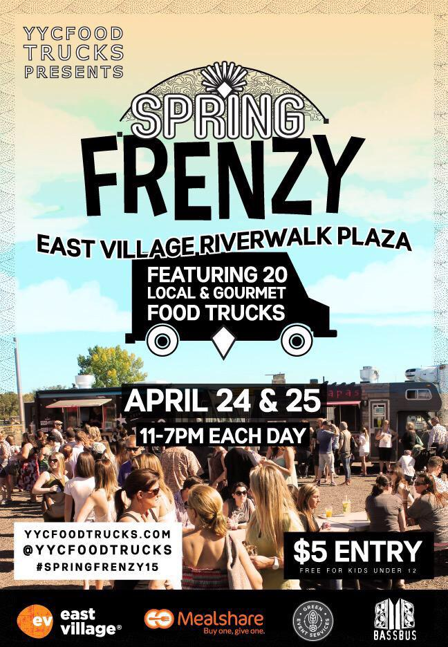 What are you doing this weekend?! It's FRENZY TIME