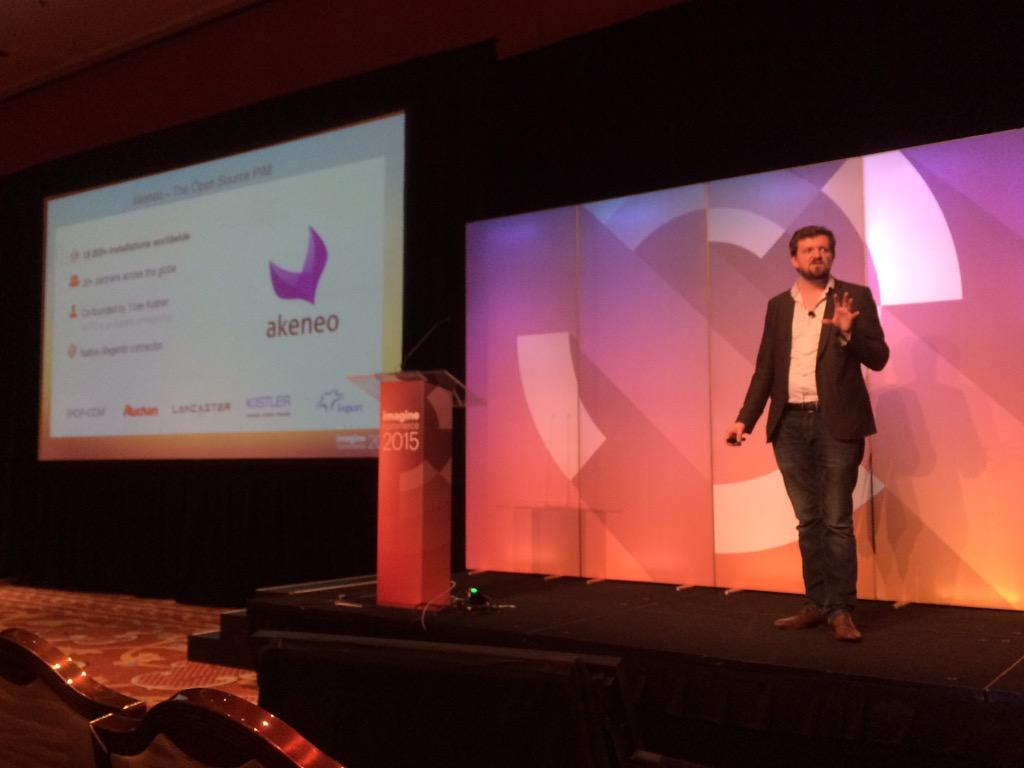 madiaecommerce: @FdeGombert from @akeneopim talks about PIM solutions at #ImagineCommerce http://t.co/W0992ywIwK