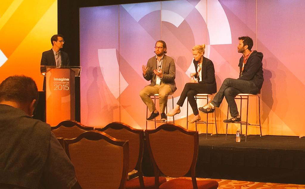 ijenz: Winnings hearts and Minds, the secret: #VIDEO Finally I hear the buzz words here at #ImagineCommerce http://t.co/MbYnNQvaXk