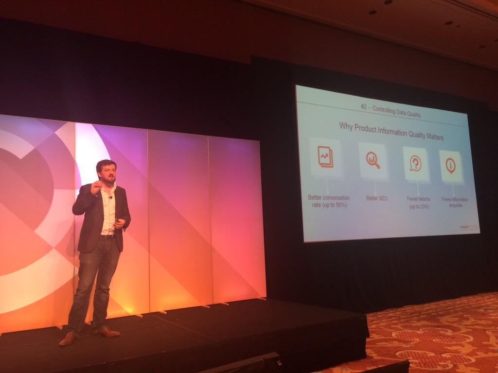 D_n_D: Why Product Information Quality Matters? Better conversion rate, better SEO... @akeneopim #ImagineCommerce http://t.co/WqwoBjqOmN