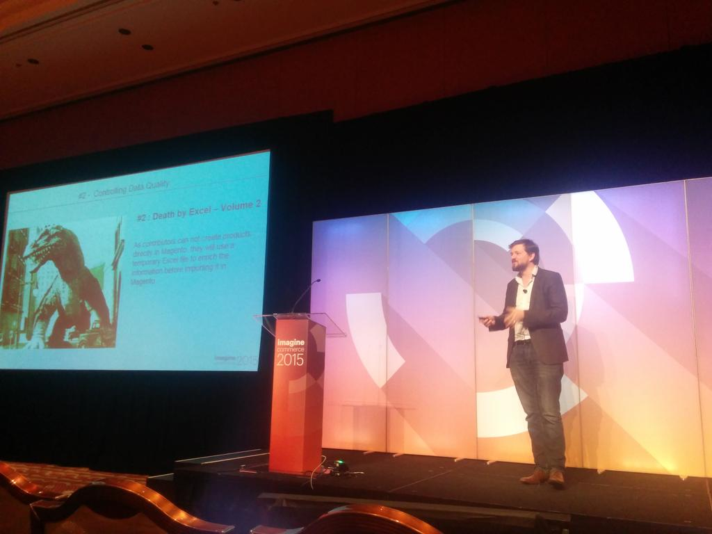 duponico: Death by Excel vs using a PIM :) #MagentoImagine http://t.co/iY270rjAXZ
