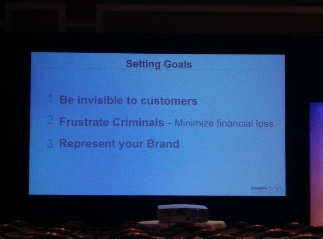 kshah24: Setting goals for #fraud prevention by merchants #ImagineCommerce /cc:@WhitepagesPro http://t.co/eqpcxQmwJN