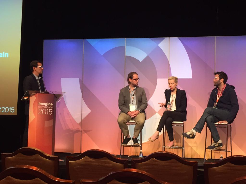 redboxdigital: Proud of our key customer @studiomoderna on stage at #MagentoImagine talking leading #ux. @magento http://t.co/hVVZO7CDwr