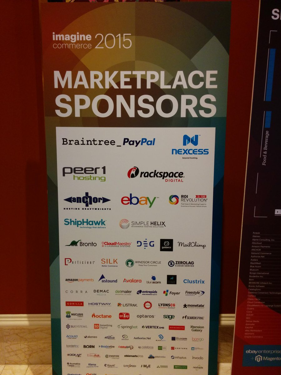 nexcess: It's never too early to thank @Magento for organizing #ImagineCommerce. We're honored to sponsor this amazing event. http://t.co/XygHD4RRRr