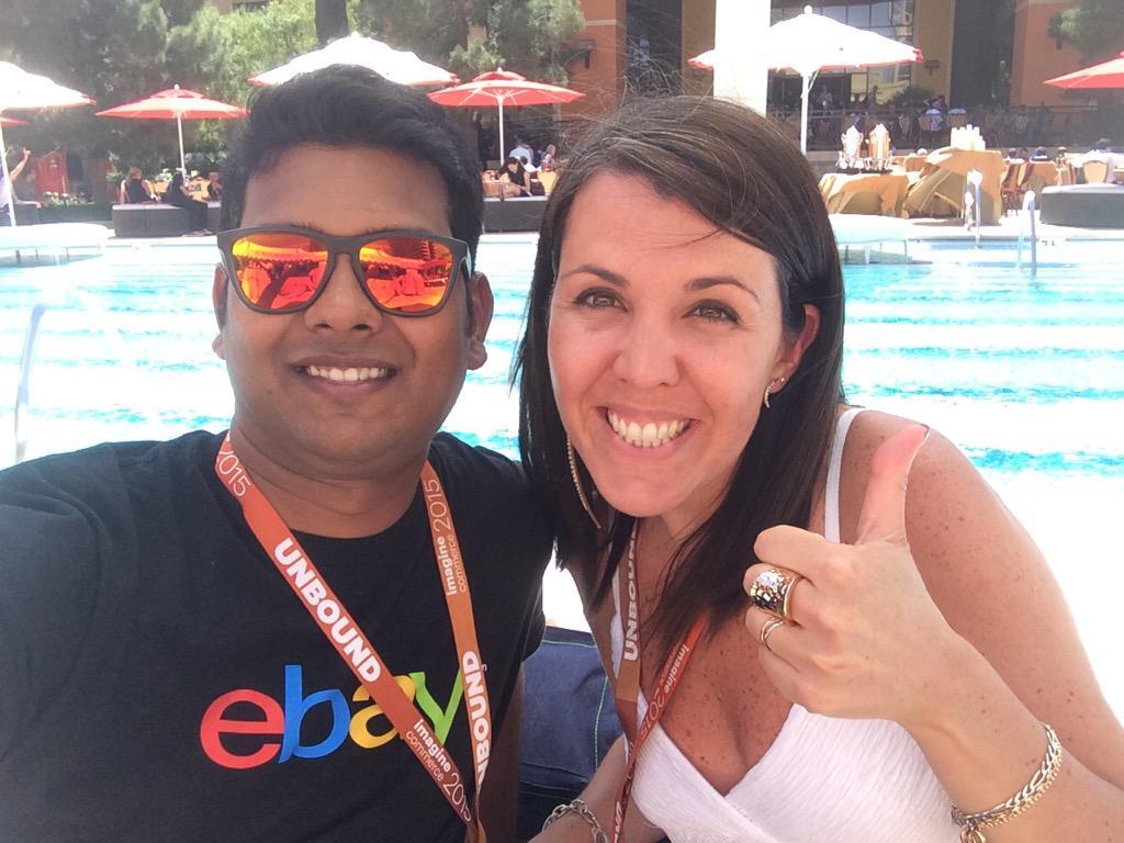 sandramgm: @Sandralt83 estoy en Las Vegas! En la conferencia #ImagineCommerce http://t.co/Wp4Y3sHsO9