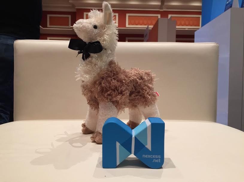 nexcess: There's no denying it. This llama is classy as can be :) #ImagineCommerce @classyllama http://t.co/x3qTJ1MhFc