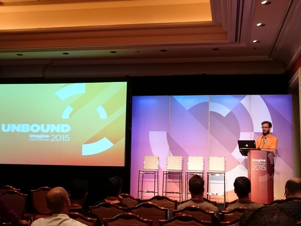 magento_rich: Frank DiRocco @fdir @PEER1, Breakout Session.. To be or not to be in the cloud. #ImagineCommerce http://t.co/O9atetko5z